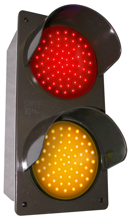 Directional Systems Product #52174 - LED Traffic Controller - Vertical, Red-Amber