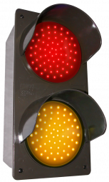 Directional Systems 52174 TCILV-RA/120-277VAC LED Traffic Controller - Vertical, Red-Amber (120-277 VAC) Image
