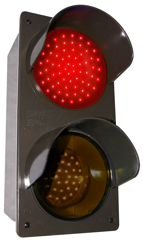 Directional Systems 52174 TCILV-RA/120-277VAC LED Traffic Controller - Vertical, Red-Amber (120-277 VAC) Message 1 Image