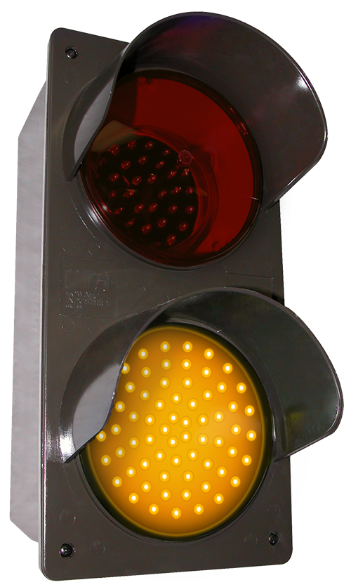 Directional Systems 52174 TCILV-RA/120-277VAC LED Traffic Controller - Vertical, Red-Amber (120-277 VAC) Message 2 Image