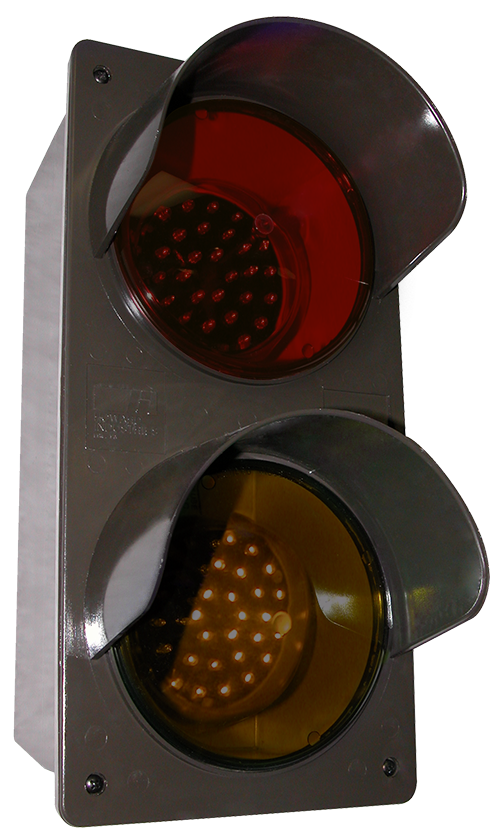 Directional Systems 52174 TCILV-RA/120-277VAC LED Traffic Controller - Vertical, Red-Amber (120-277 VAC) Message 3 Image
