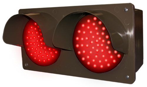 Directional Systems Product #52175 - LED Traffic Controller - Horizontal, Red-Red