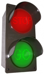 Directional Systems 52177 TCILV-RG-A203/120-277VAC LED Traffic Controller STOP | GO (120-277 VAC) Image
