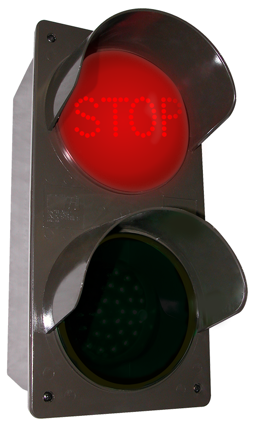 Directional Systems 52177 TCILV-RG-A203/120-277VAC LED Traffic Controller STOP | GO (120-277 VAC) Message 2 Image