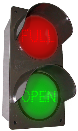 Directional Systems Product #52178 - LED Traffic Controller - FULL | OPEN, Vertical, Red-Green
