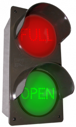 Directional Systems 52178 TCILVRG-L644/120-277VAC LED Traffic Controller - FULL | OPEN, Vertical, Red-Green (120-277 VAC) Image