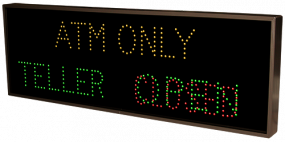 ATM ONLY | TELLER | OPEN | CLOSED