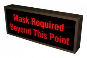 Directional Systems 54228 SBL718R-N710/120-277VAC Mask Required Beyond This Point (120-277 VAC) Image