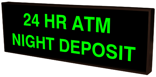 Directional Systems Product #54750 - 24 HR ATM NIGHT DEPOSIT
