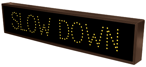 Directional Systems Product #9099 - SLOW DOWN